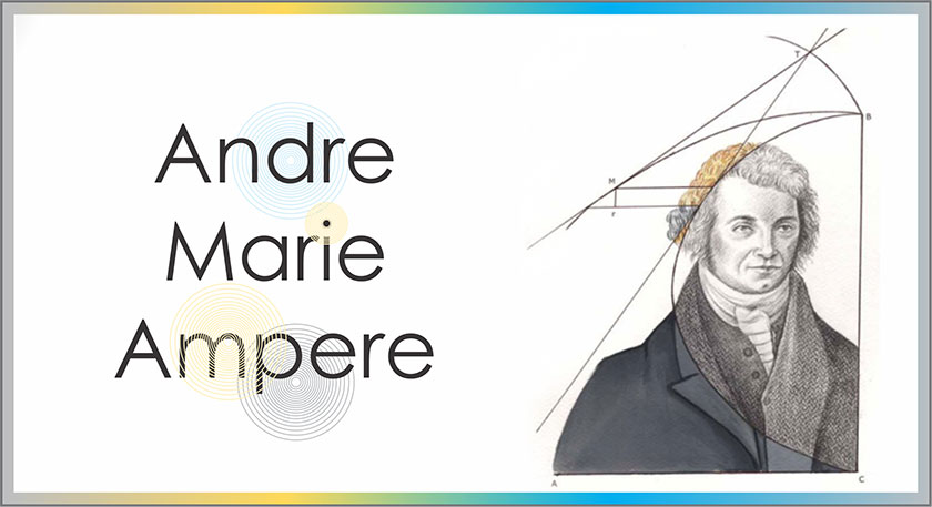 Andre marie ampere head
